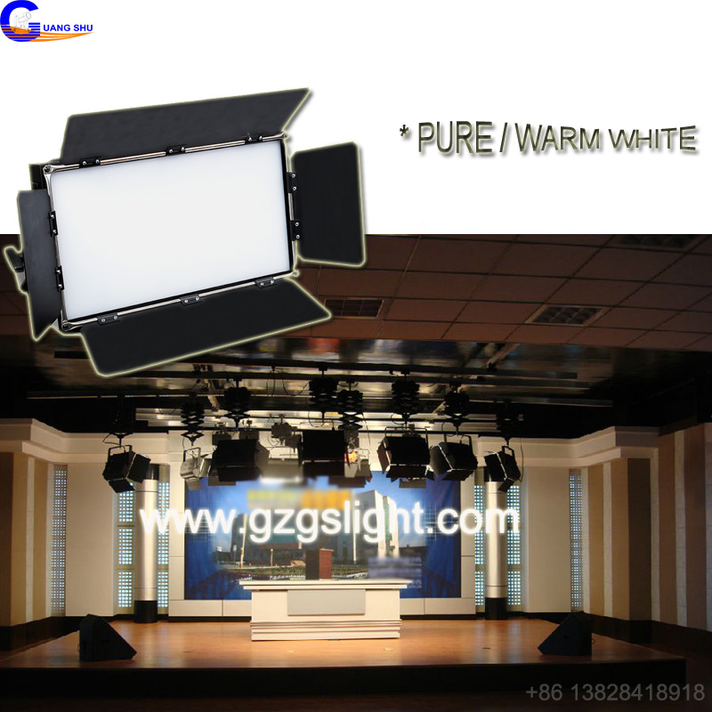 PRO DMX Studio LED Panel Softlight for broadcast with Warm white/Pure White