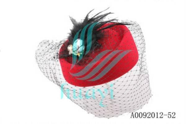 Unique Top Fashion Women Wool Felt Hat Costume Party Hat