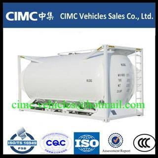 Sell CIMC ISO 40ft tank container