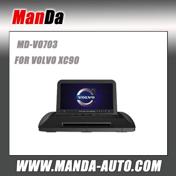 2 din car dvd player for Volvo xc90 car dvd auto radio navigation in-dash head units satellite gps