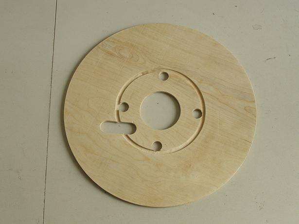 cable reel flange