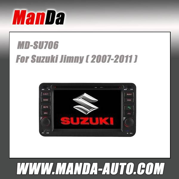 double din car dvd for Suzuki Jimny (2007-2011) car dvd gps navigation in-dash head units multimedia