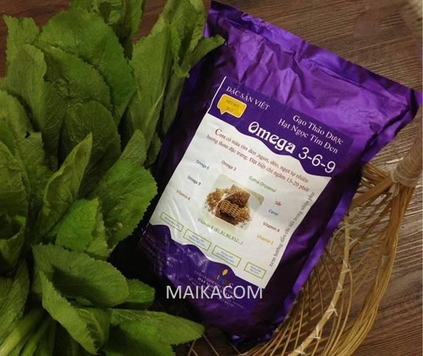 Vietnam Organic Purple Rice