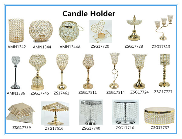 Table Candle Holder & Floor Candle Holder