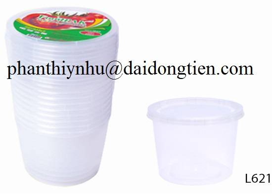 Sell plastic food container set 5