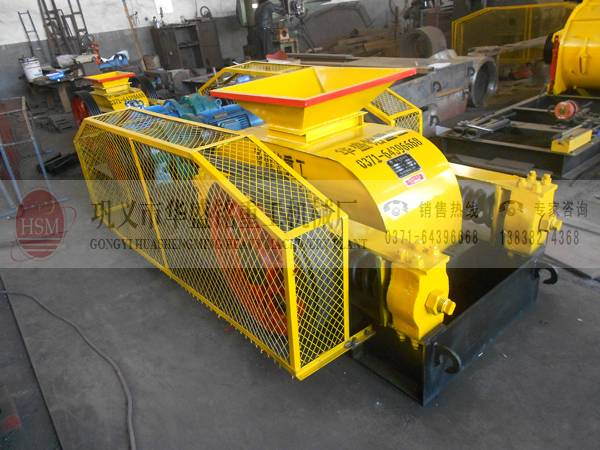 China best selling double roller crusher
