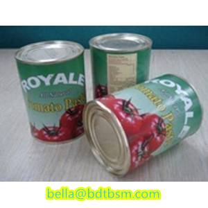 Sell canned tomato paste 22-24%brix, 70g-4500g