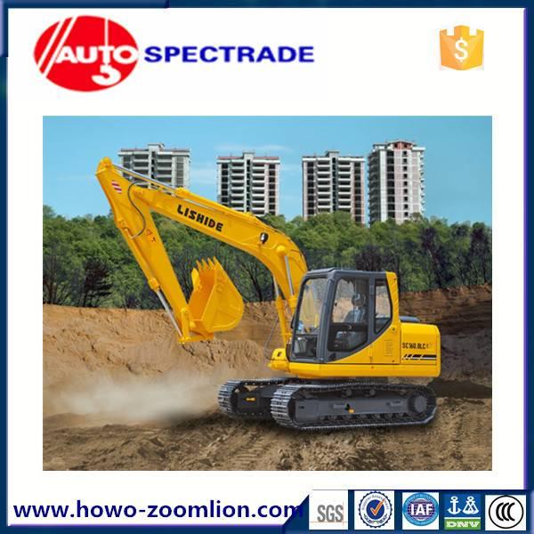 16 ton excavator China Lishide SC160.8 low price