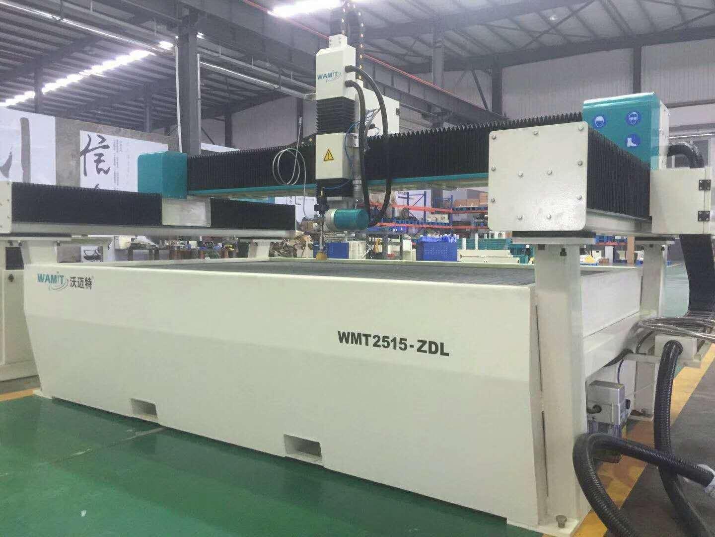 WMT2515-AL waterjet cutting machine for metal cutting