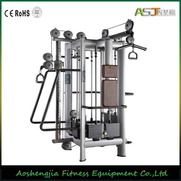 Gym Equipment/A025 Cable Jungle/4 station Machine