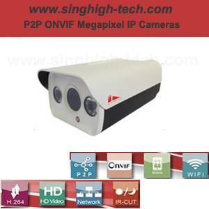 P2p Onvif 2.0MP 1080P Waterproof IR IP Camera (NS5363)