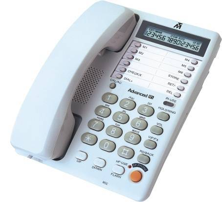two-line phone