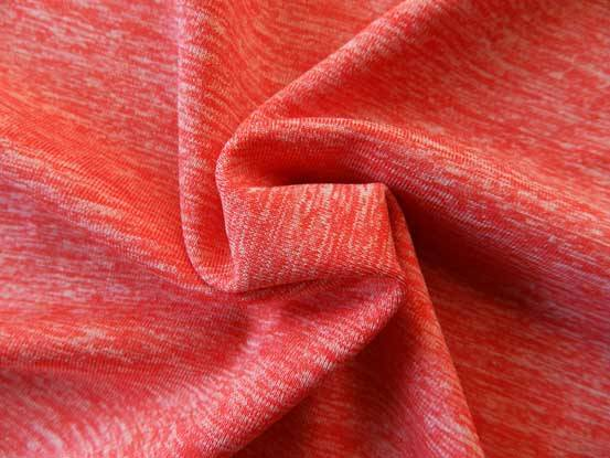 Colorful Mélange Cationic Polyester Stretching Fabric