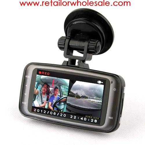 Wholesale CUBOT GS8000 Car DVR 1080P Full HD Motion Detection Night Vision Wide Angle HDMI