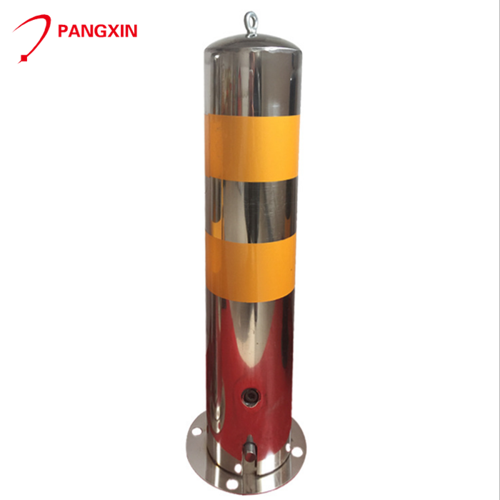 Stainless steel security road traffic 304 fixed bollard