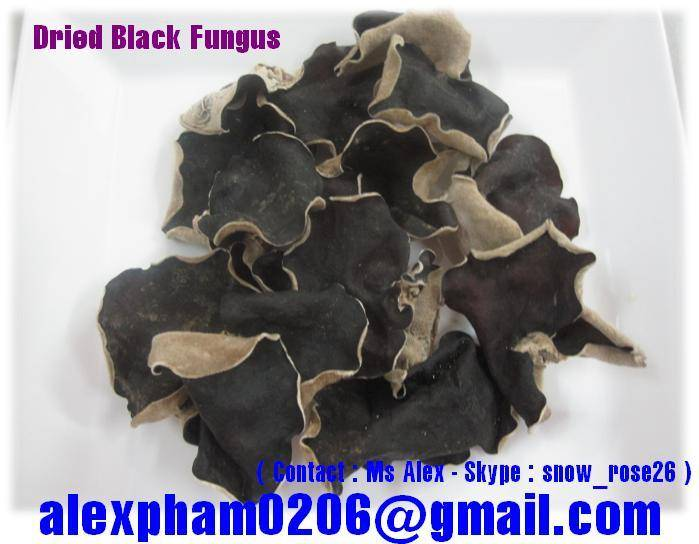 Dried Black Fungus, Dried Mushroom