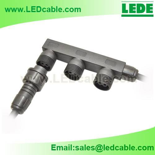 Waterproof distributor Box Cable For Outdoor LED lighting