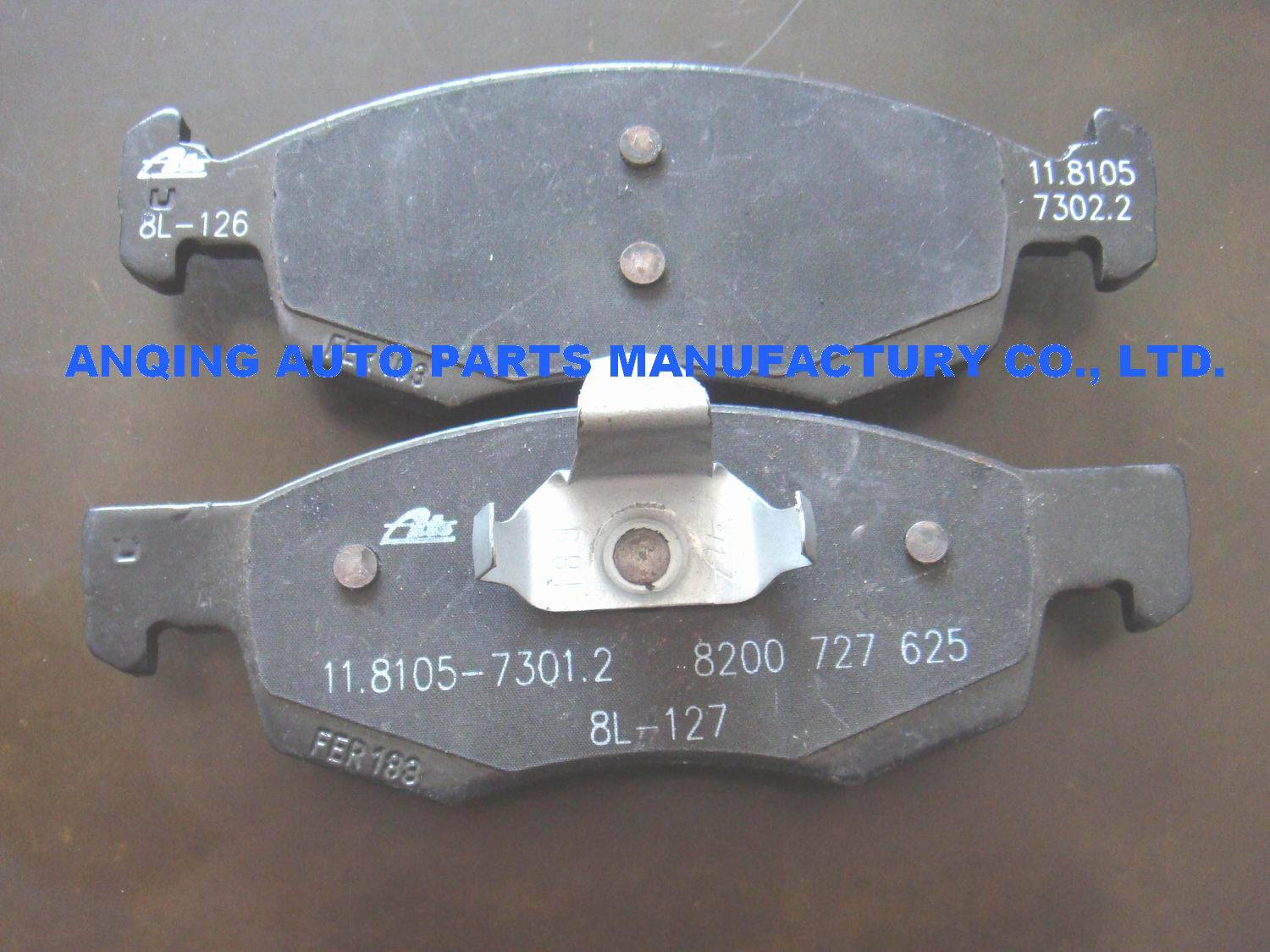 brake pad 6001549803 for Renault Dacia