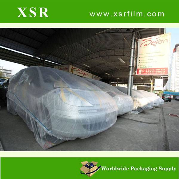 disposable plastic tarpaulin automatic car cover,PE car body cover