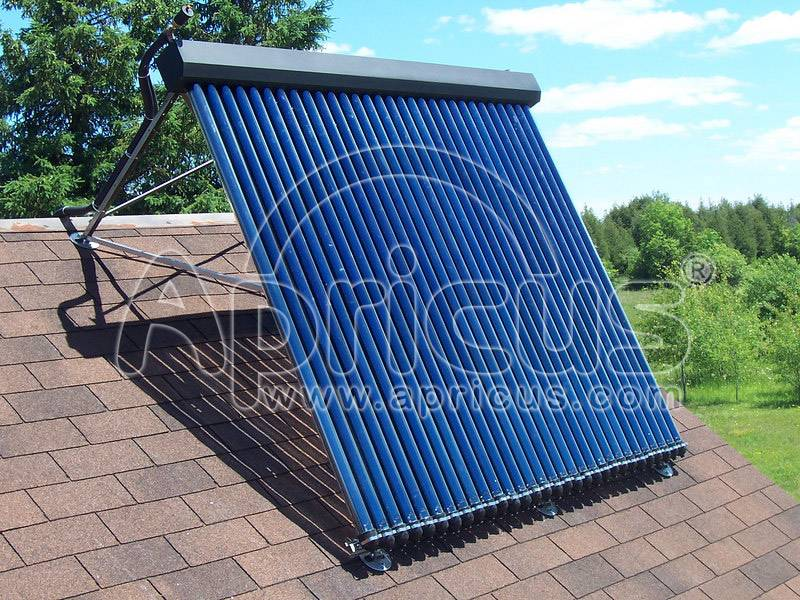 Apricus Solar Water Heater