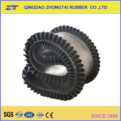 Oil Resistant Endless Rubber Conveyor Belt