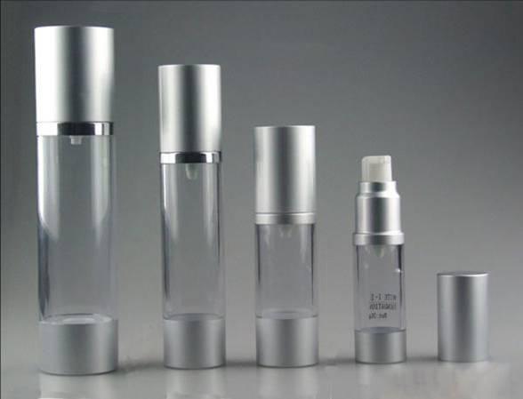 Eye cream airless bottle ,AS transparent Facial cleanser bottle
