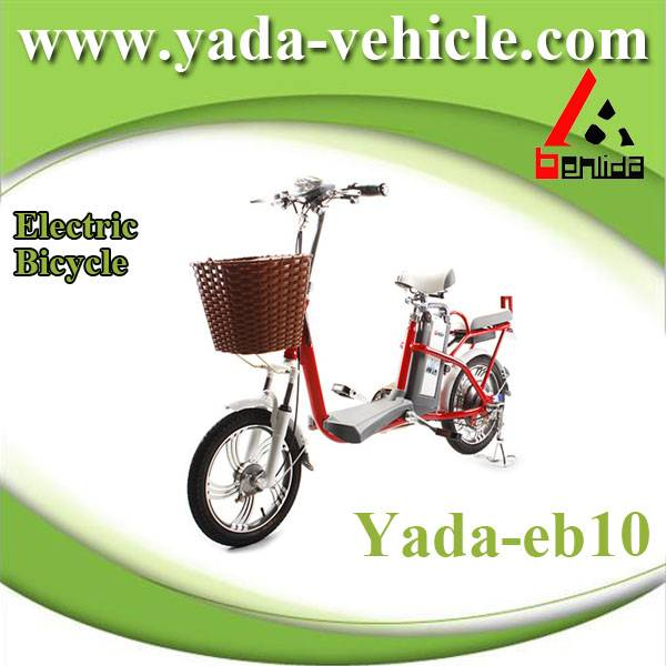 48v 250w 10ah 16inch lithium mini city electric bicycle bike (yada eb10)