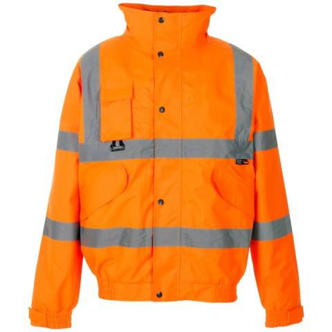 Bomber jacket safety workwear
