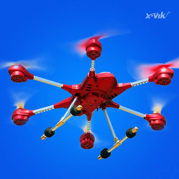 New product Headless Mode One Key Return RC hexacopter With HD camera Atmosphere Pressure Sensor (AP