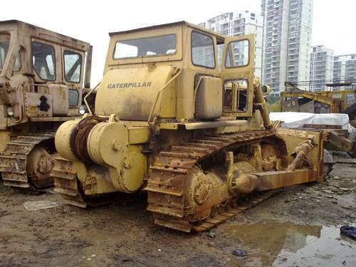Used CAT D7G bulldozer with winch
