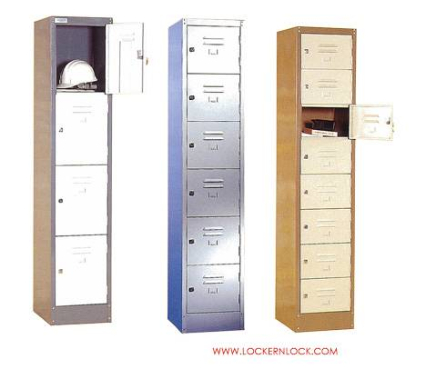 Metal lockers - custom size, tiers available