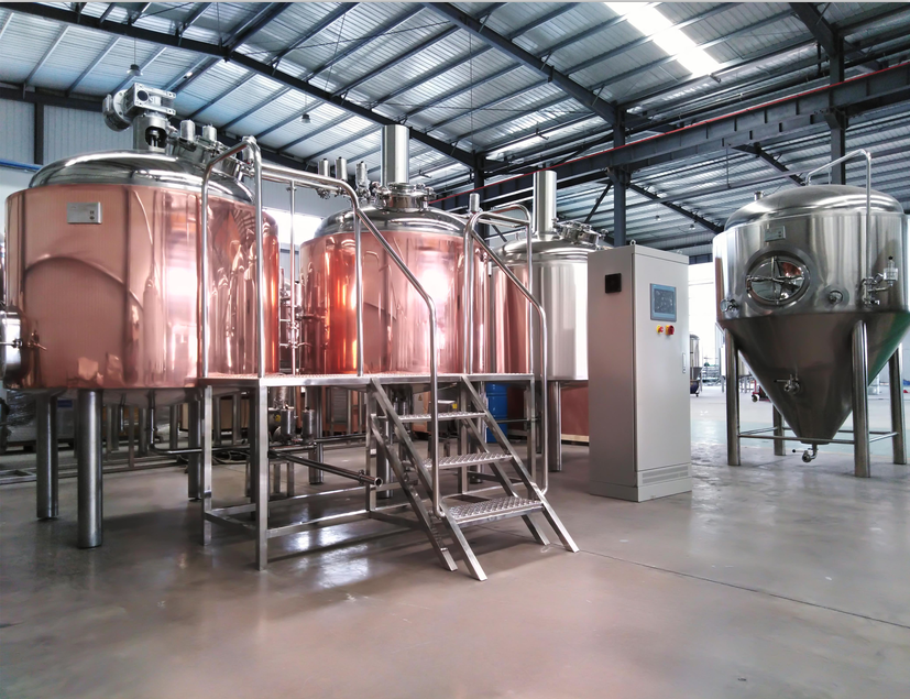 1000L Commercial beer brewing equipment for microbrewery
