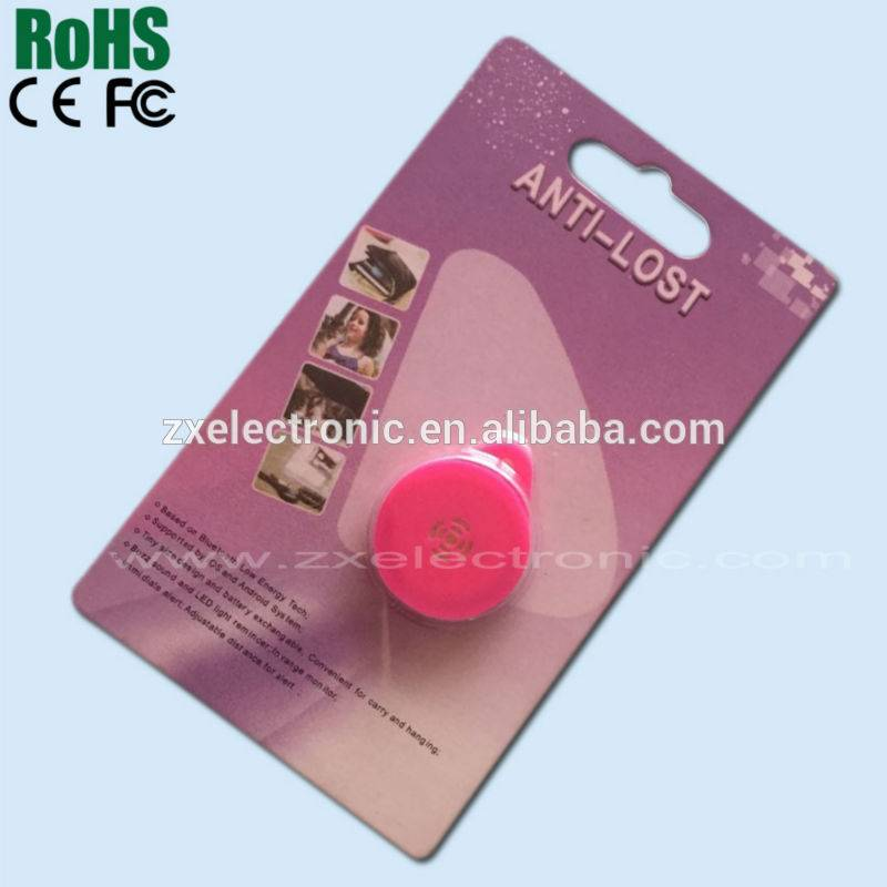Key finder or wallet or luggage or pet or mobile phone new design bluetooth anti-lost alarm