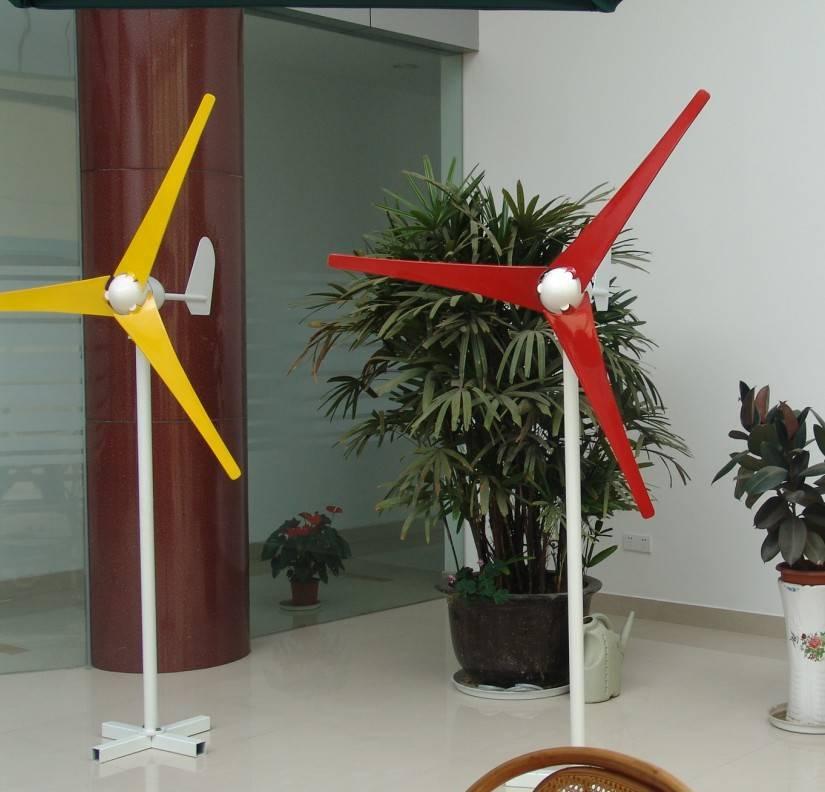 500w ac 12v/24v horizontal axis small wind generator