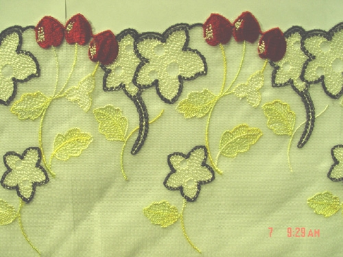 net lace embroidery lace