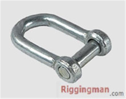 JIS TYPE SCREW PIN CHAIN SHACKLE WITH COUNTER SUNK HEAD