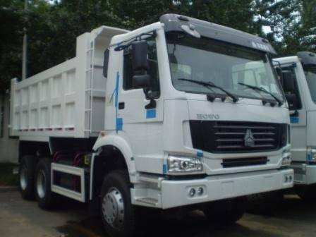 HOWO tipper truck 336hp (In stock)