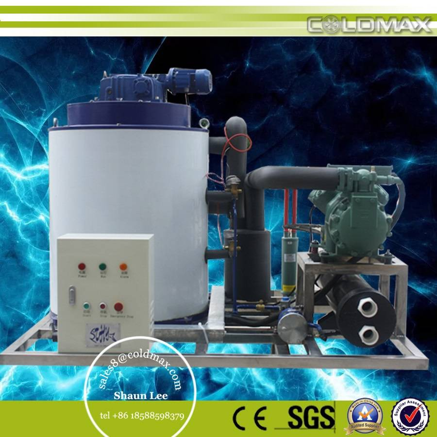 CE certification flake ice making machine
