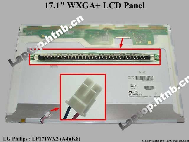 LP171WX2 LP171WP4 LP171W01 B170PW06 17.1 HP DV9000 GLOSSY TOSHIBA LAPTOP PANEL LCD