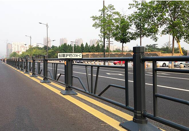creative road isolation fence/barrier