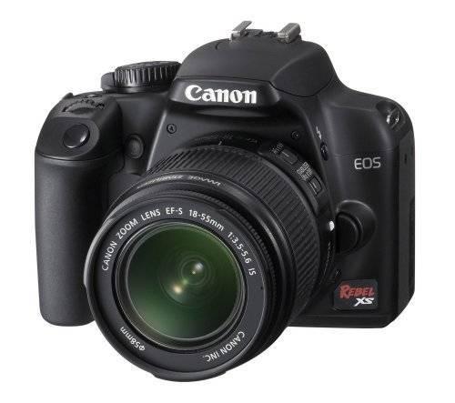 Canon Rebel XS 10.1MP Digital SLR Camera with EF-S 18-55mm f/3.5-5.6 IS Lens (Black)