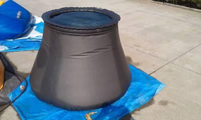 Foldable fuel bladder