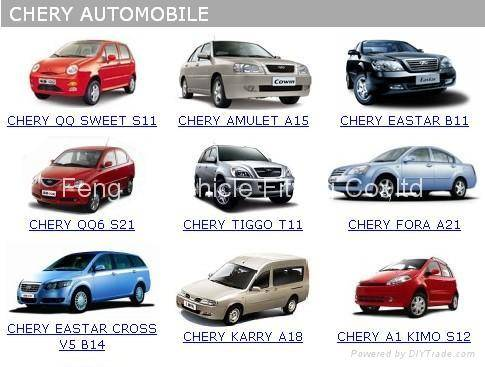 Sell Chery Spare Parts