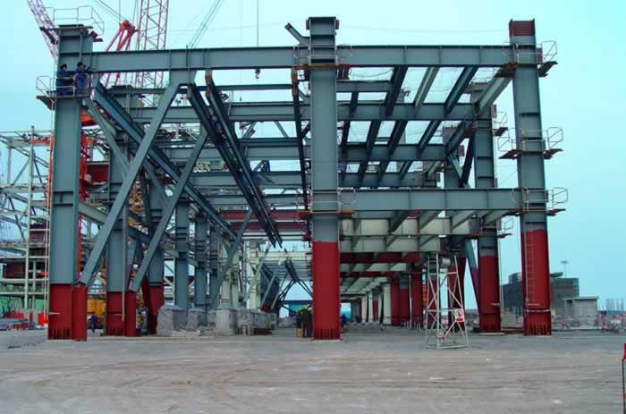Heavy Industrial steel structure prefabricated steel frame