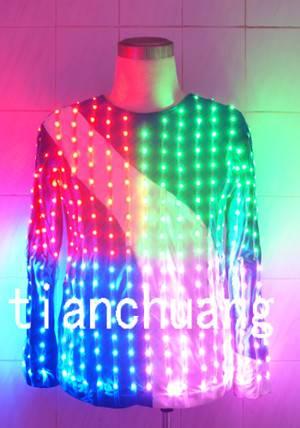 LED Costumes LED T shirt LED Suit