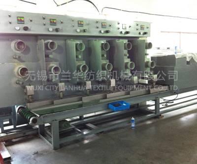 Grass fiber crimp production machine