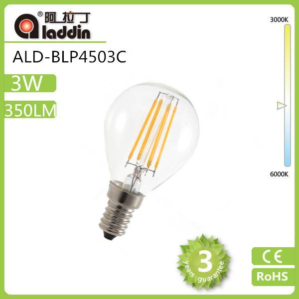LED bulb china 3w led filament bulb on sales