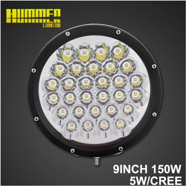 Super brightness of 9inch 150W off road led driving work light for car