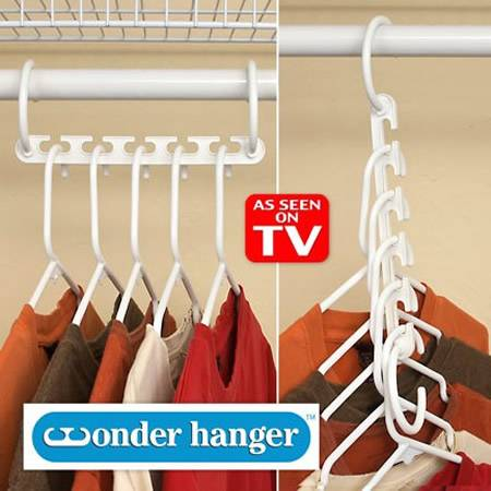 Wonder hanger /magic clothes hanger