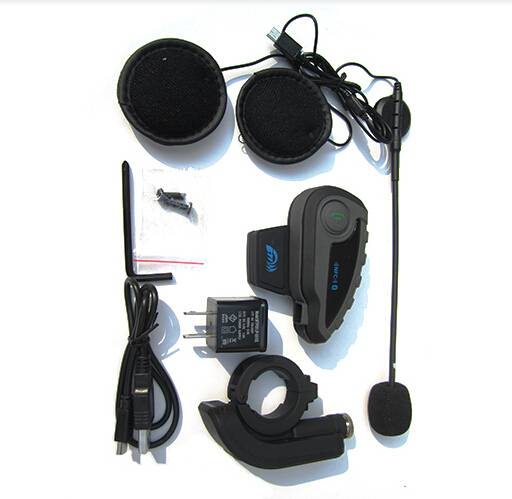 motorcycle helmet speaker with remote control for 5 riders
